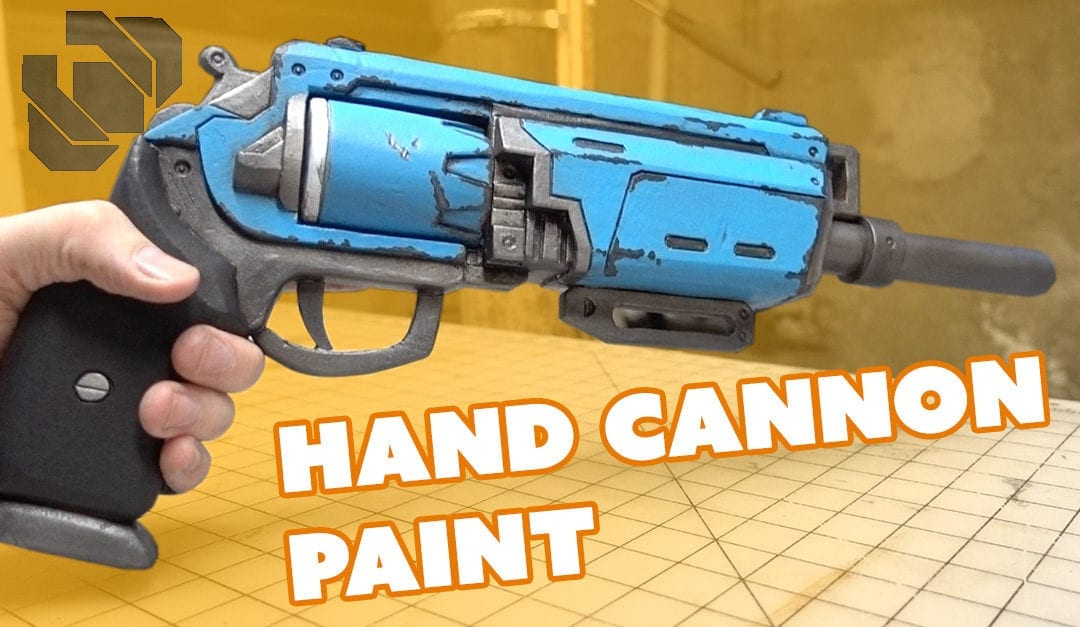 Painting a Destiny Hand Cannon – Andrew DFT Collaboration