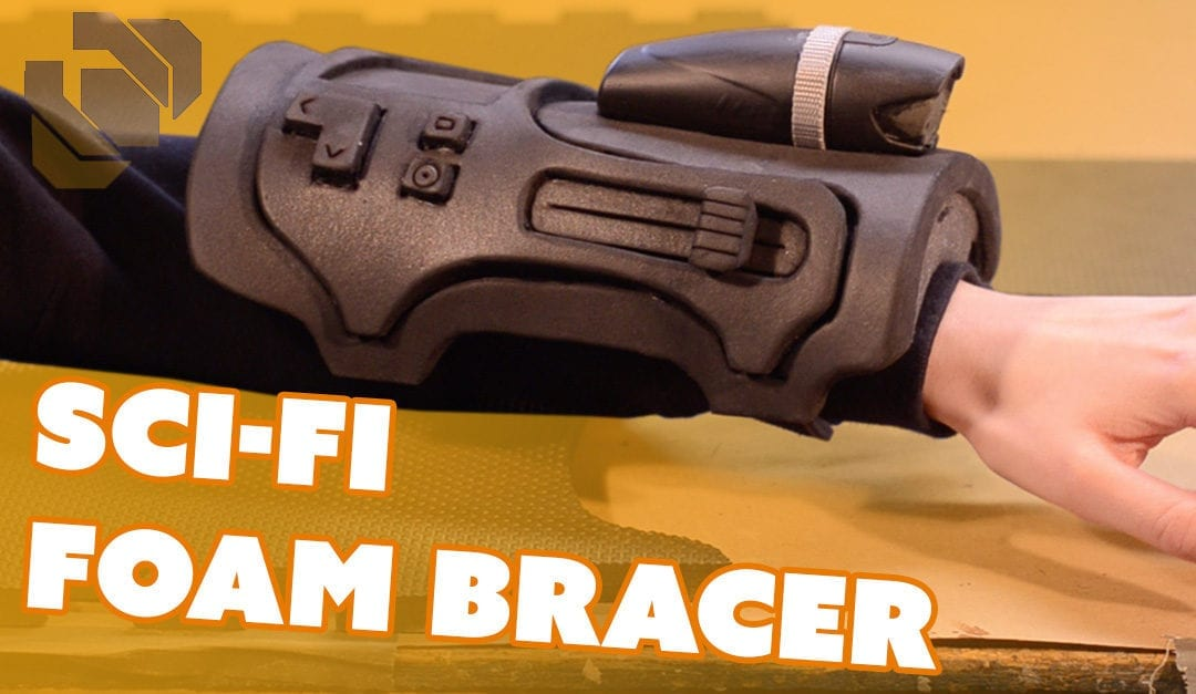 Sci-Fi Foam Bracer – Prop: Live from the Shop