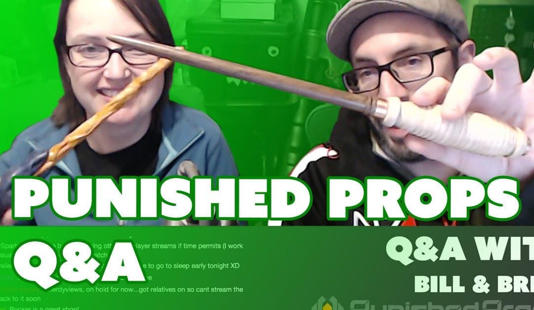 Prop: Live – Q&A with Bill and Britt – 3/23/2017