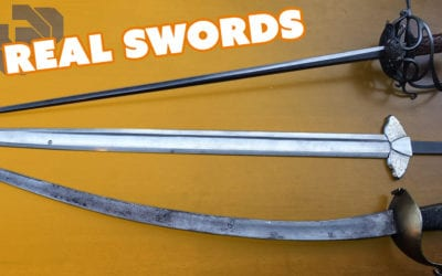 Prop Swords vs Real Swords with Chris Menges – Prop: Shop