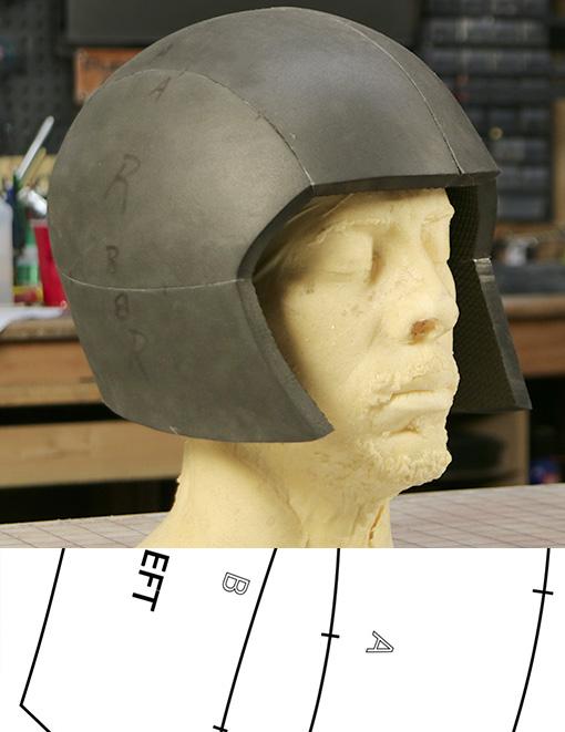 basic cosplay helmet template. Black Bedroom Furniture Sets. Home Design Ideas