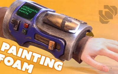 Painting a Sci-Fi Foam Bracer – Prop: Live from the Shop