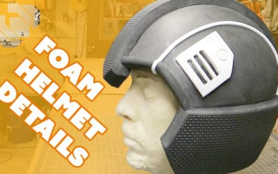 Adding Detail to the Basic Foam Helmet