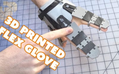 3D Printing Rigid and Flexible Material on the Sigma Dual Extruder 3D Printer & Simplify 3D