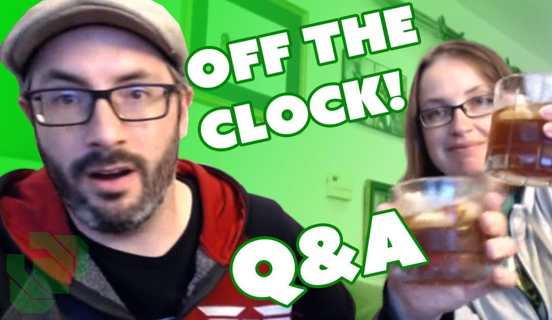 Prop: Live – Q&A – Punished Props off the Clock! – 4/26/2017
