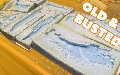 Critiquing Silicone Molds I made 5 Years Ago