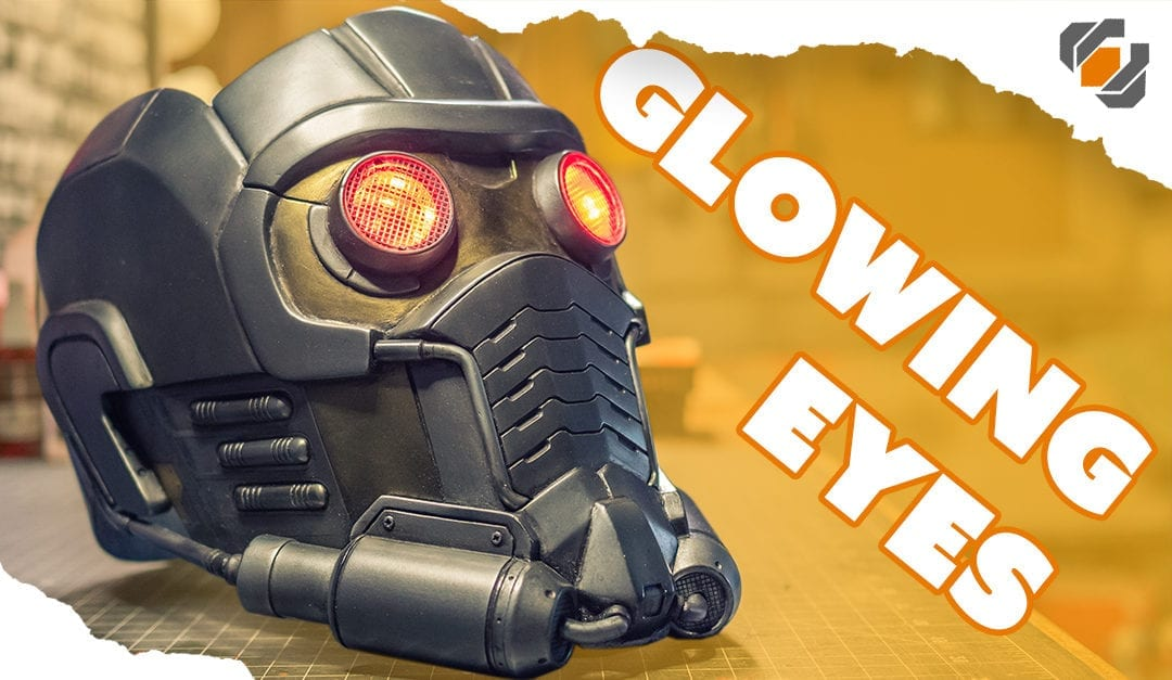 Adding Glowing Eyes – Star-Lord Helmet Kit Part 4