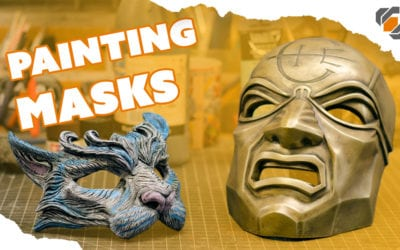 Painting Masks – Dishonored Overseer and Masquerade Cat