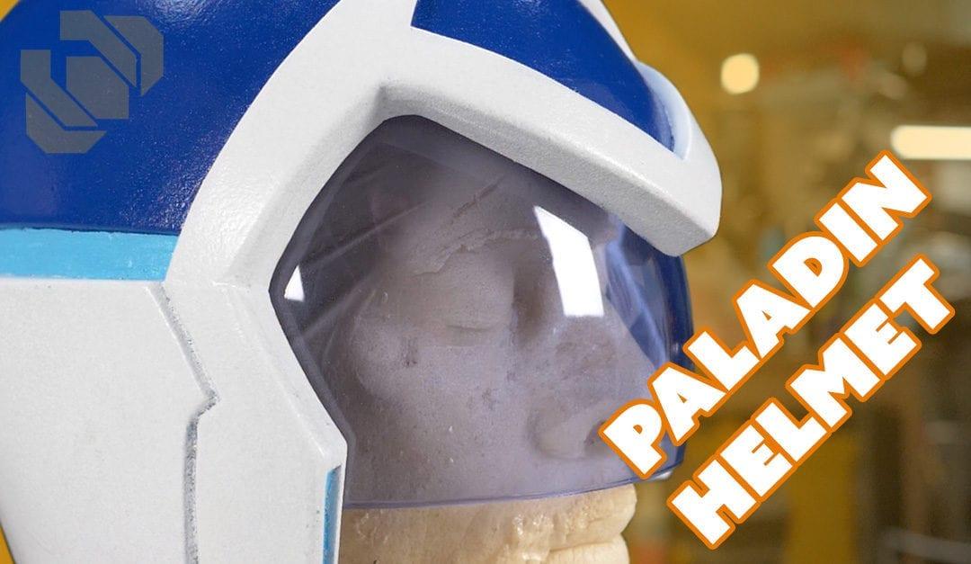 Voltron Paladin Helmet – Paint and Custom Visor Tutorial