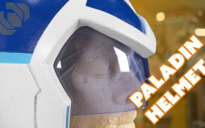 Voltron Paladin Helmet – Paint and Custom Visor Tutorial