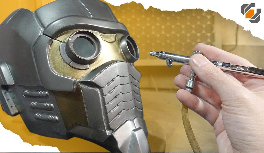 Fiberglass and Painting – Star-Lord Helmet Kit Part 2