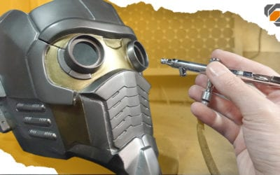 Fiberglass and Painting – Star-Lord Helmet Kit Part 2