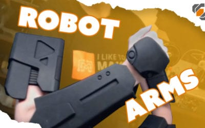 Foam Robot Arms! – Destiny Sweeper Bot Build