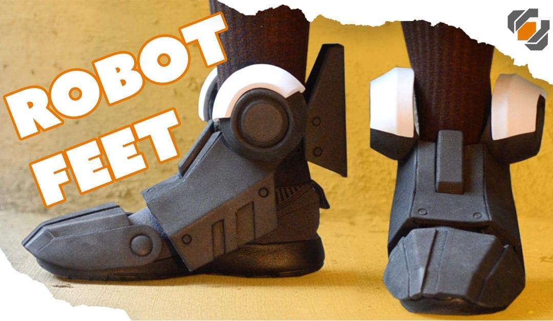 How to Make Robot Feet from EVA Foam – Destiny Build