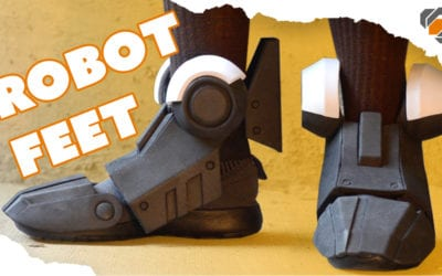 How to Make Robot Feet from EVA Foam – Destiny Build