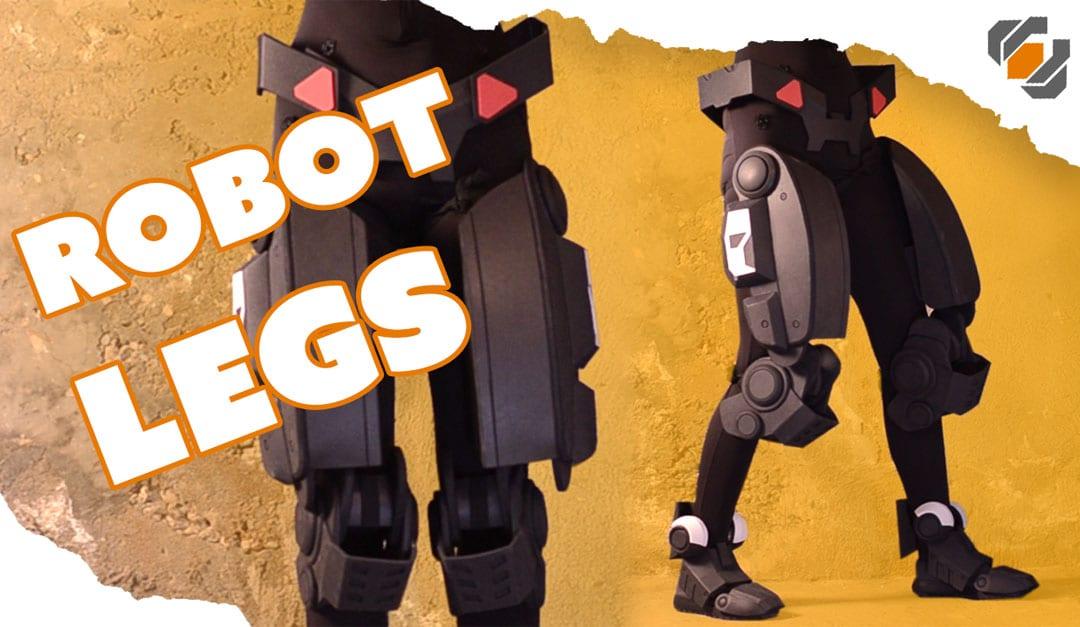Eva Foam Robot Legs Destiny Sweeper Bot Build Punished