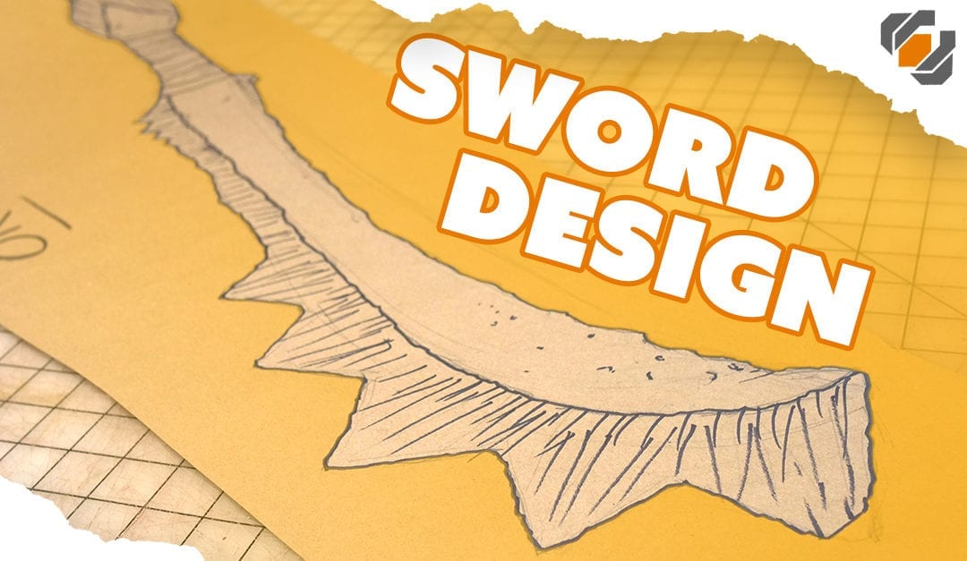 Prop Sword Design 101 – Drawing Tutorial