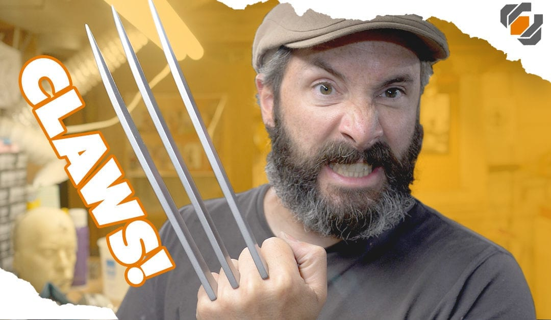 Wolverine's Prop Claws – Cosplay Tutorial Part 2 – Blades