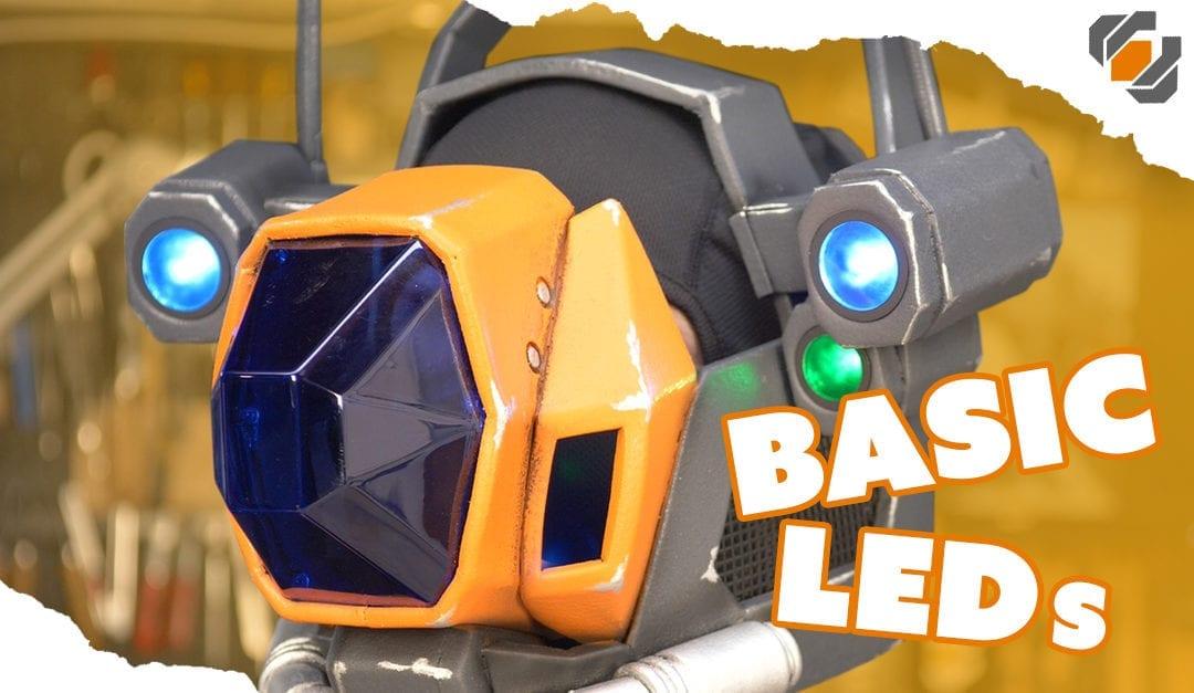Basic LED Wiring for Robot Eyes – Destiny Sweeper Bot Build