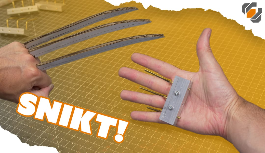 Wolverine S Prop Claws Cosplay Tutorial Part 1 Hand Grips