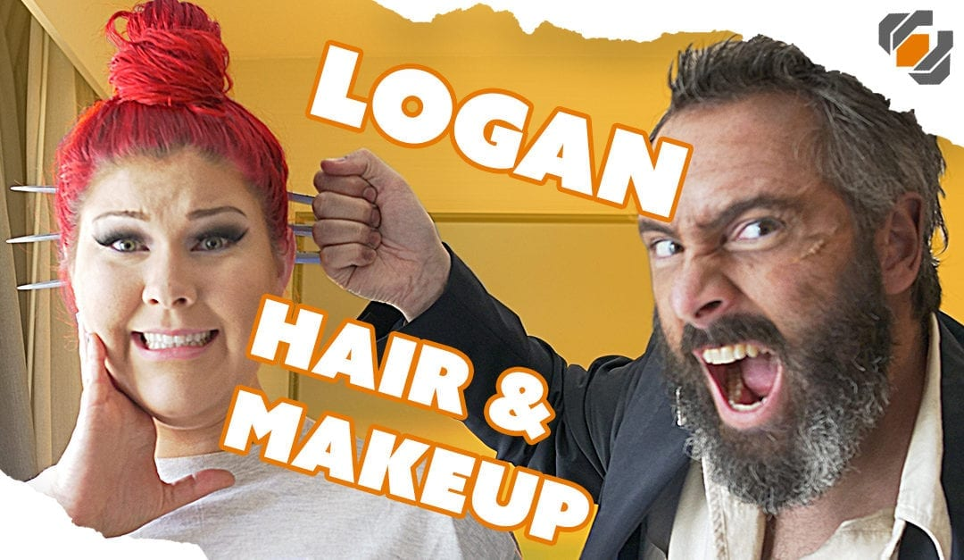 Old Man Logan Hair & Makeup Tutorial with Jackie Craft at Dragon Con