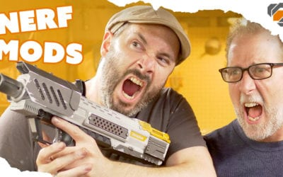 Modding and Painting a Nerf Blasters with Evil Ted Smith