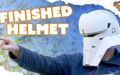 Finishing the 3D Printed Tank Trooper Helmet – Budget 3D Printer