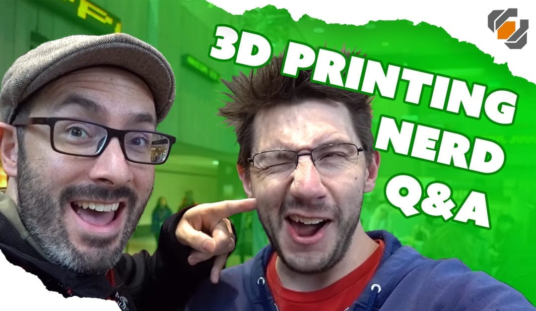Prop: Live – Q&A with the 3D Printing Nerd – 10/5/2017