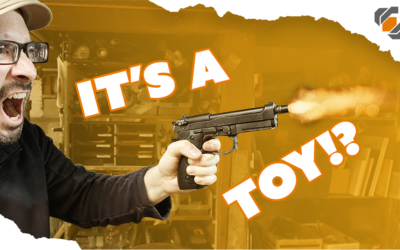 Modifying a Toy Pistol for DIY Film Making and Cosplay