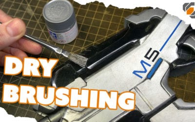 HOW TO – Drybrush Painting & Weathering for Props & Cosplay – TUTORIAL