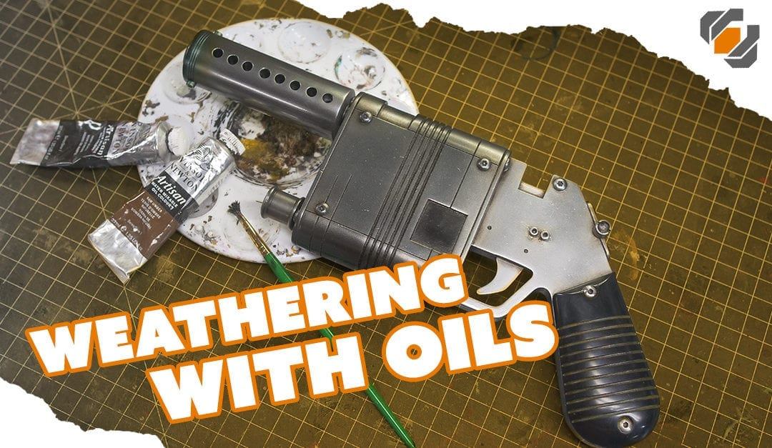 HOW TO – Weather Props with Oil Paints – Tutorial