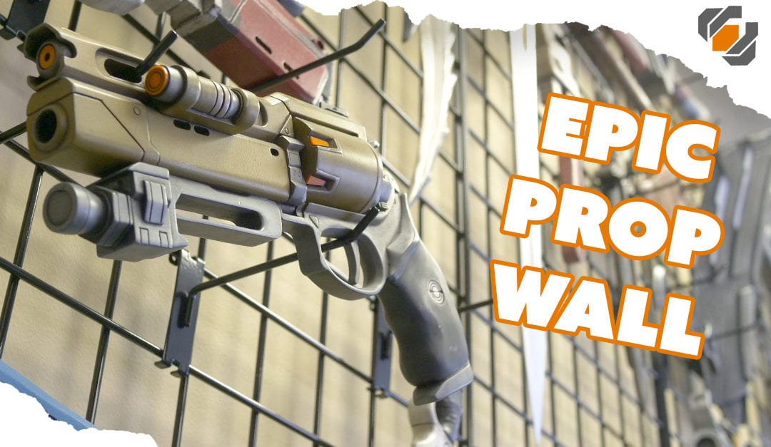 EPIC PROP WALL! How to Display Your Props