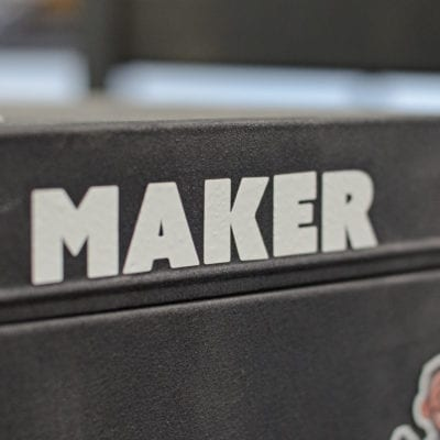Maker sticker Punished Props Academy