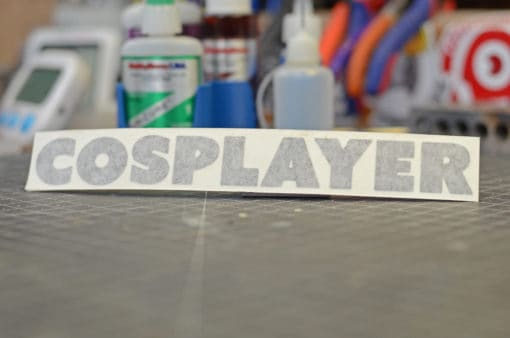 Cosplayer Sticker Cosplayer Decal