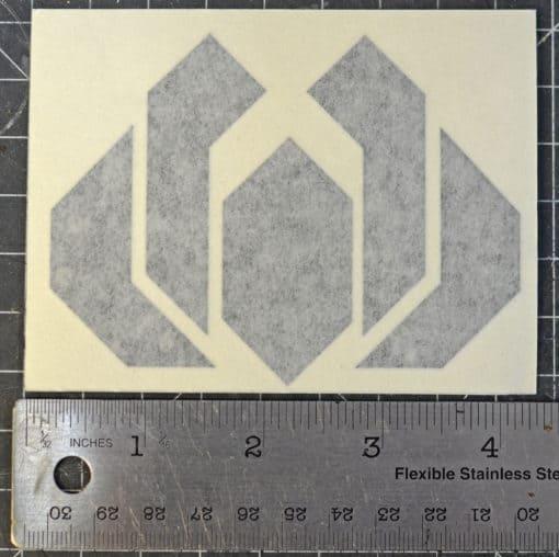 Punished Props Logo Sticker Logo Decal