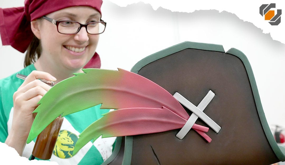 Sea of Thieves PIRATE HATS! – Quick & Cheap EVA Foam Cosplay Tutorial