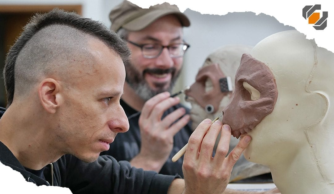 Mask MADNESS Part 1 – Sculpting