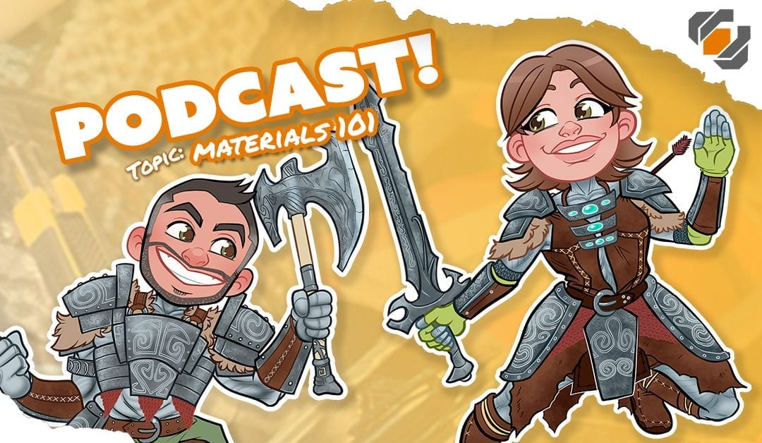 Prop Live Podcast 11/14/18 –  Materials 101