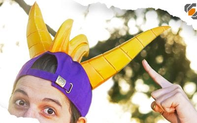 SPYRO The Dragon… Hat? – Tutorial + Templates