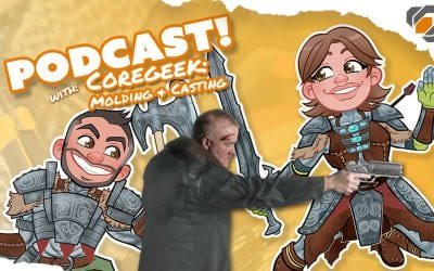 Prop Live Podcast 12/12/18 – Molding & Casting with Coregeek Creations