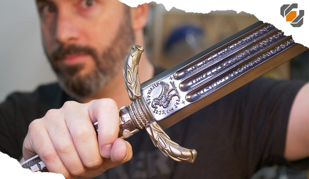 SHINY! Graphite vs. Metallic Finishes – Sword of Athena