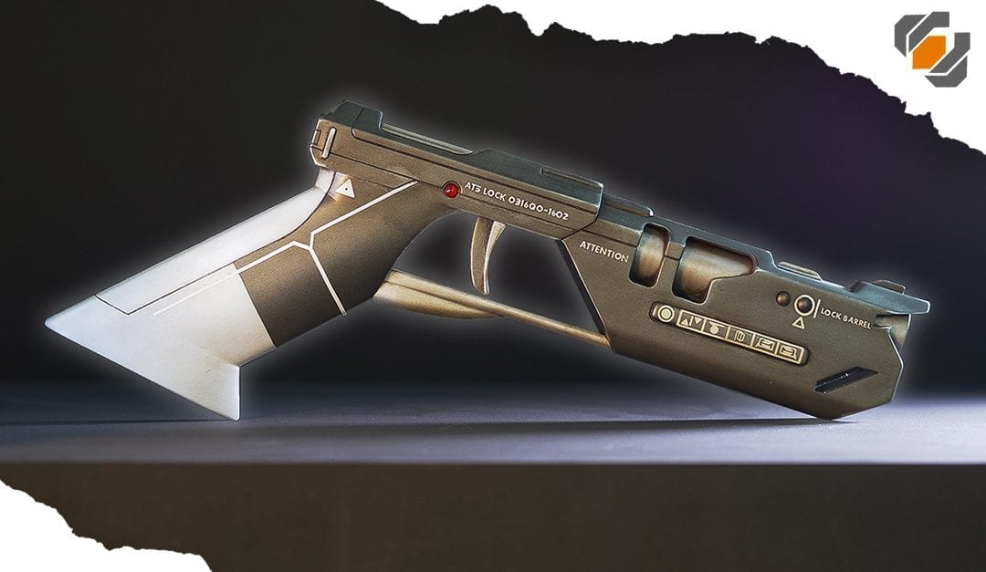 HOW TO: From 3D Model to Finished Prop – Tom Cruise's Oblivion Blaster!