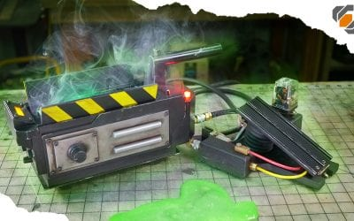 GHOSTBUSTERS: Spirit Halloween GHOST TRAP Mod + Repaint