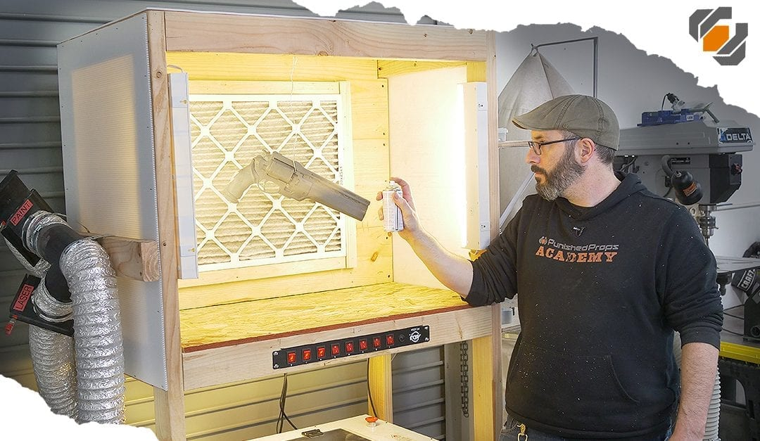 HOW TO: Making a Custom Paint Booth with Lights!