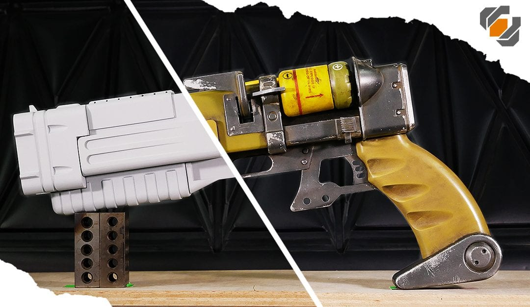 Finishing my Fallout 4 Laser Pistol! – Assembly and Awesome Painting Techniques