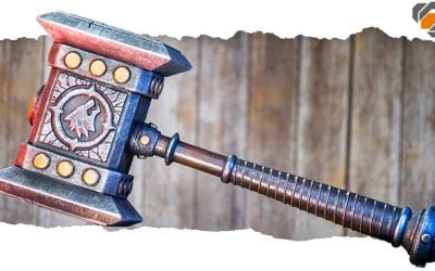 Making the World of Warcraft DOOMHAMMER with Yaya Han EVA Foam!