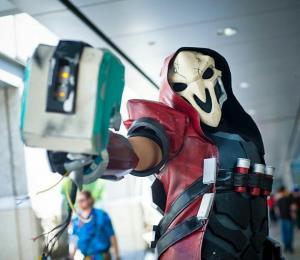 """Costume by <a href=""""http://www.facebook.com/BrokenBladeWorkshop/"""">Broken Blade Workshop</a>"""