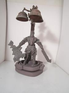 """Foam Sculpture by <a href=""""http://twitter.com/joshiematt/"""">Joshua Benoit</a>"""